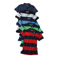 James & Nicholson Piqué Polo Striped 948