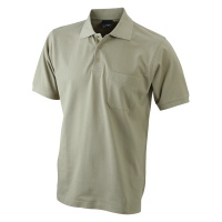 James & Nicholson Men's Polo Pocket 922